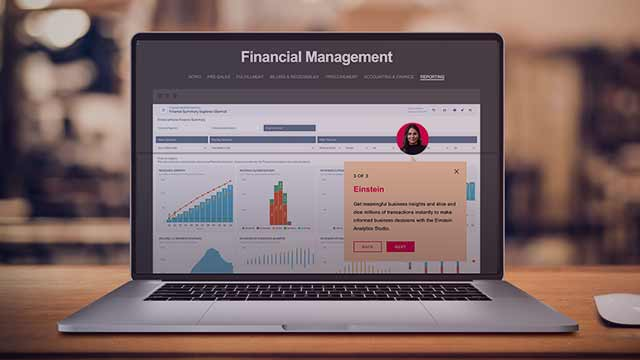 Financial Management Interactive Tour